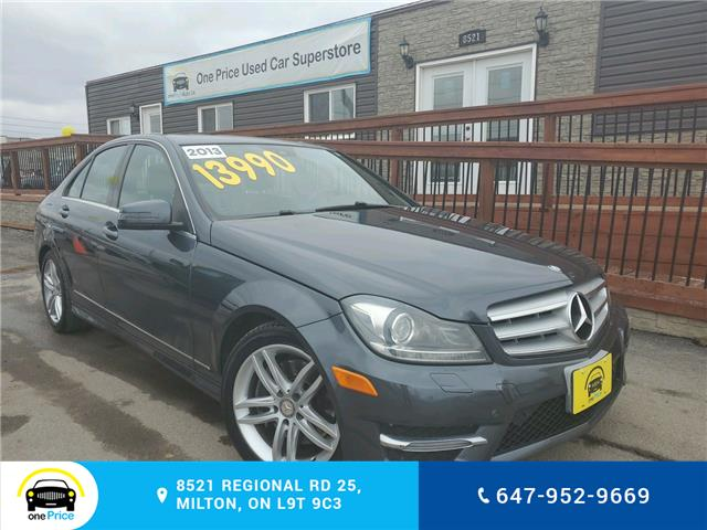 2013 Mercedes-Benz C-Class Base (Stk: 10467) in Milton - Image 1 of 28