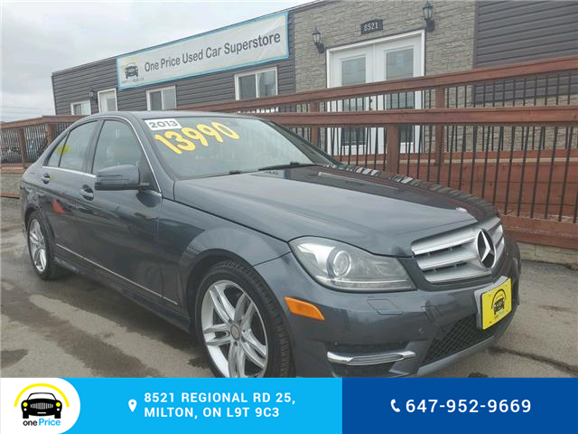 2013 Mercedes-Benz C-Class Base (Stk: 10467) in Milton - Image 2 of 28