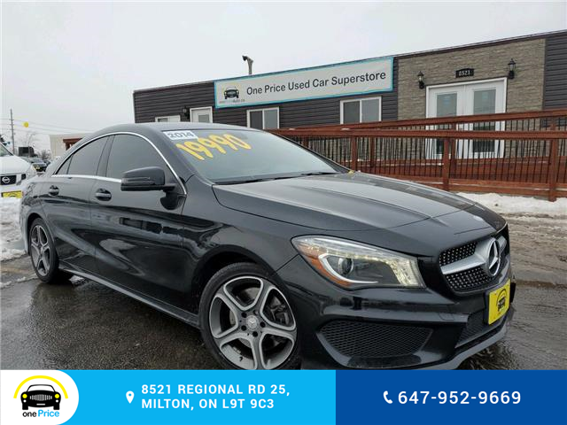 2014 Mercedes-Benz CLA-Class Base (Stk: 10240) in Milton - Image 1 of 29