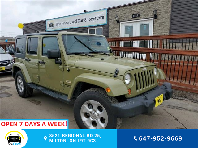2013 Jeep Wrangler Unlimited Sahara (Stk: 10508) in Milton - Image 1 of 23