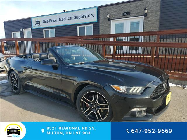 2015 Ford Mustang EcoBoost Premium (Stk: 10513) in Milton - Image 1 of 25