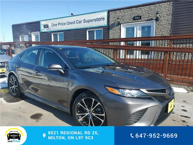 2018 Toyota Camry SE (Stk: 10535) in Milton - Image 1 of 28