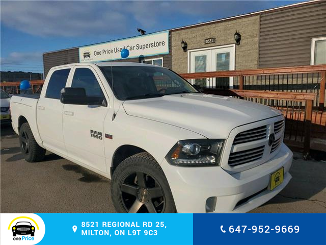 2015 RAM 1500 Sport (Stk: 10552) in Milton - Image 1 of 24