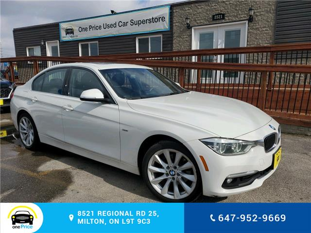 2016 BMW 328d xDrive (Stk: 10560) in Milton - Image 1 of 23