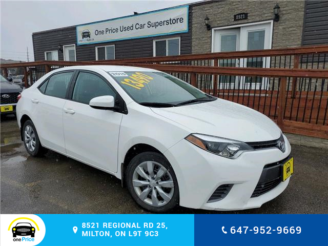 2015 Toyota Corolla LE (Stk: 10569) in Milton - Image 1 of 20