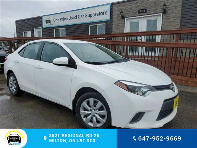 2016 Toyota Corolla LE (Stk: 10571) in Milton - Image 1 of 18