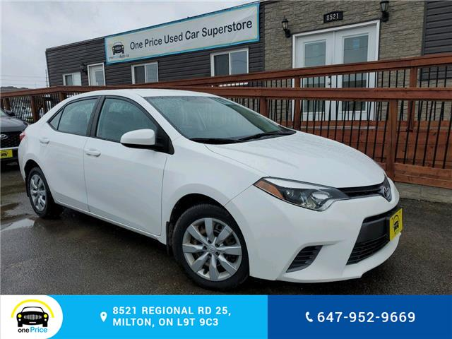 2016 Toyota Corolla LE (Stk: 10572) in Milton - Image 1 of 21