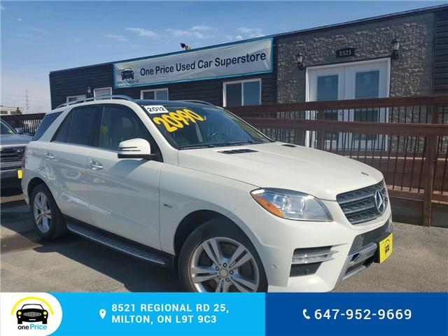 2012 Mercedes-Benz M-Class Base (Stk: 10543) in Milton - Image 1 of 26