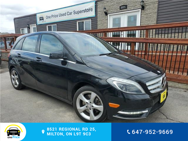 2014 Mercedes-Benz B-Class Sports Tourer (Stk: 10588) in Milton - Image 1 of 26