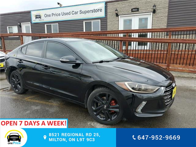 2018 Hyundai Elantra Limited (Stk: 704904) in Milton - Image 1 of 25