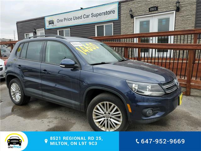2016 Volkswagen Tiguan Special Edition (Stk: 10518) in Milton - Image 1 of 24
