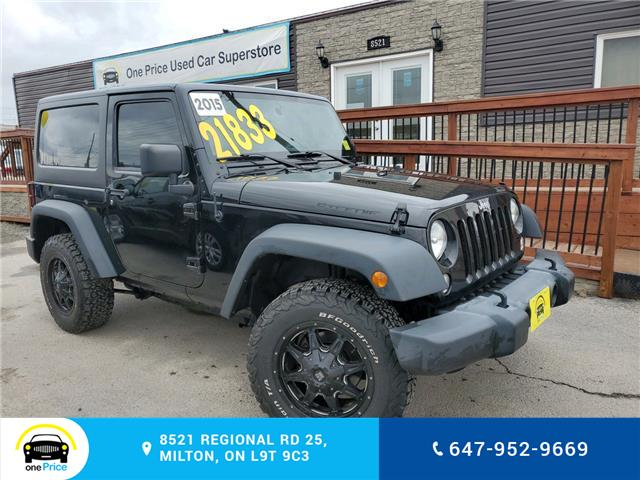 2015 Jeep Wrangler Sport (Stk: 10521A) in Milton - Image 1 of 19