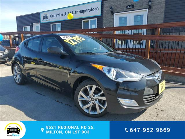 2017 Hyundai Veloster Base (Stk: 10195A) in Milton - Image 1 of 23