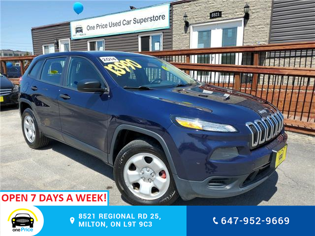 2014 Jeep Cherokee Sport (Stk: 10533) in Milton - Image 1 of 26