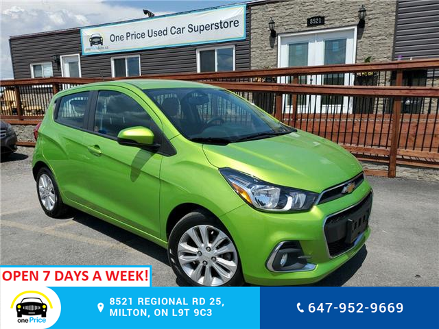 2016 Chevrolet Spark 1LT Manual (Stk: 10604) in Milton - Image 1 of 20
