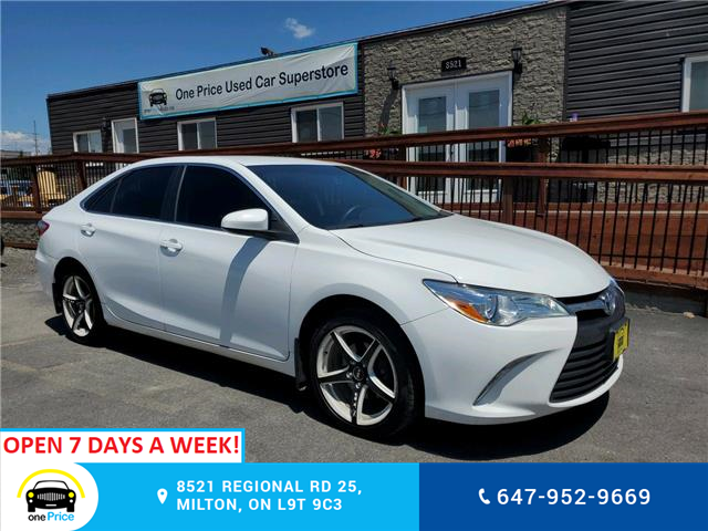 2016 Toyota Camry LE (Stk: 10626) in Milton - Image 1 of 19