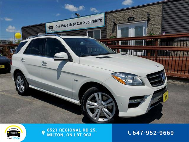 2012 Mercedes-Benz M-Class Base (Stk: 10629) in Milton - Image 1 of 27