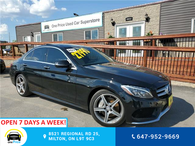2017 Mercedes-Benz C-Class Base (Stk: 10620) in Milton - Image 1 of 25