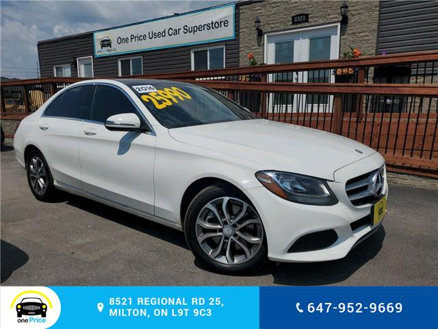 2016 Mercedes-Benz C-Class Base (Stk: 10599) in Milton - Image 1 of 24