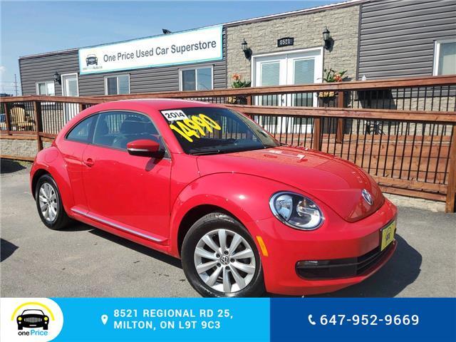 2014 Volkswagen Beetle 2.0 TDI Comfortline (Stk: 10615) in Milton - Image 1 of 22