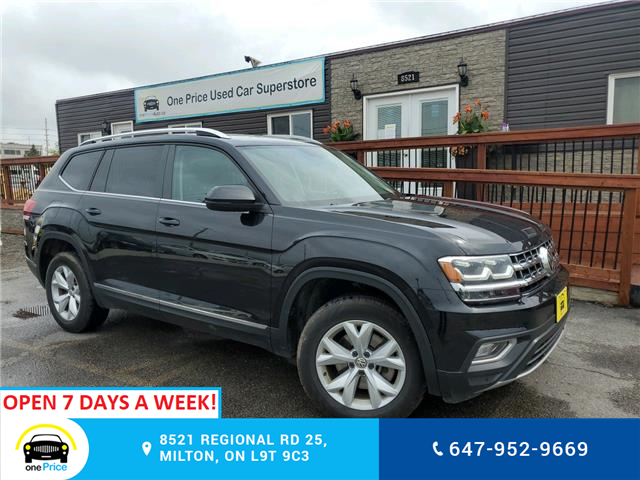 2018 Volkswagen Atlas 3.6 FSI Highline (Stk: 10699) in Milton - Image 1 of 25