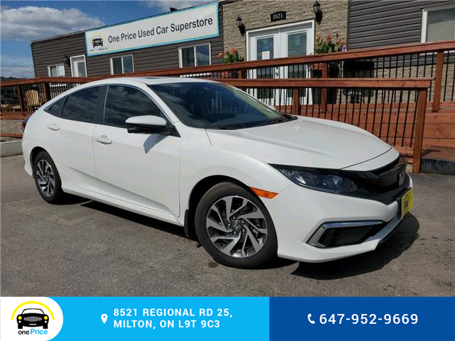 2020 Honda Civic EX w/New Wheel Design (Stk: 10711) in Milton - Image 1 of 25