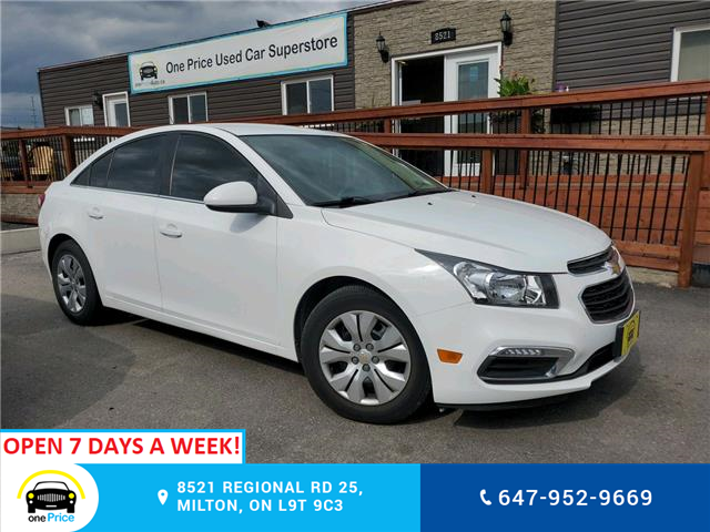 2015 Chevrolet Cruze 1LT (Stk: 10742) in Milton - Image 1 of 23