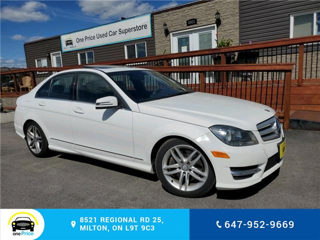 2013 Mercedes-Benz C-Class Base (Stk: 10750) in Milton - Image 1 of 28