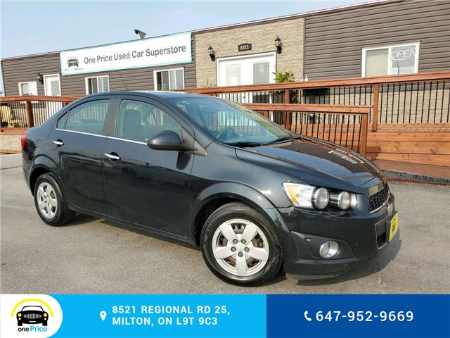 2014 Chevrolet Sonic LT Auto (Stk: 10767) in Milton - Image 1 of 22