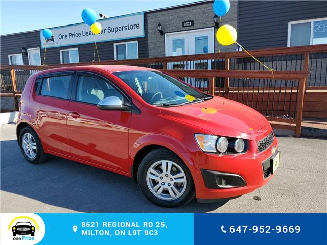 2012 Chevrolet Sonic LS (Stk: 10772) in Milton - Image 1 of 27