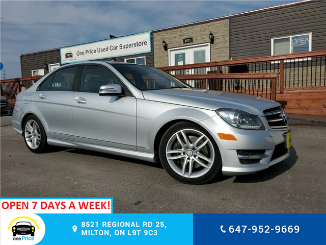 2014 Mercedes-Benz C-Class Base (Stk: 10778) in Milton - Image 1 of 28