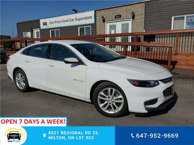 2018 Chevrolet Malibu LT (Stk: 10808) in Milton - Image 1 of 25
