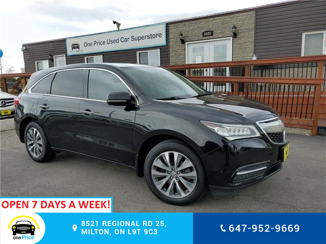2016 Acura MDX Navigation Package (Stk: 10802) in Milton - Image 1 of 26