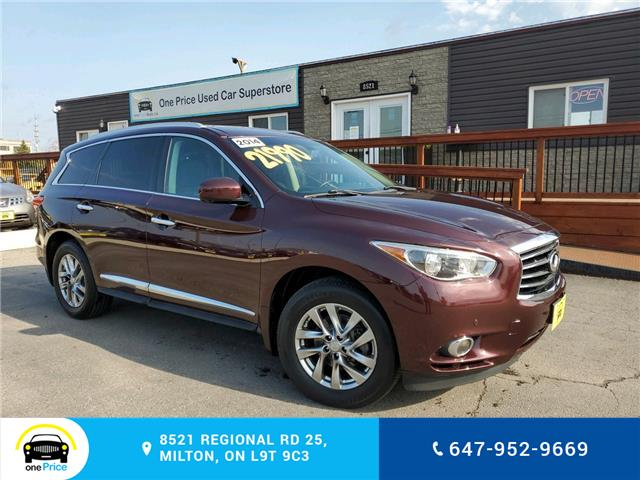 2014 Infiniti QX60 Base (Stk: 10793) in Milton - Image 1 of 30