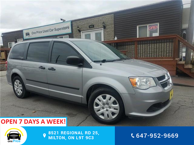 2016 Dodge Grand Caravan SE/SXT (Stk: 276829) in Milton - Image 1 of 26
