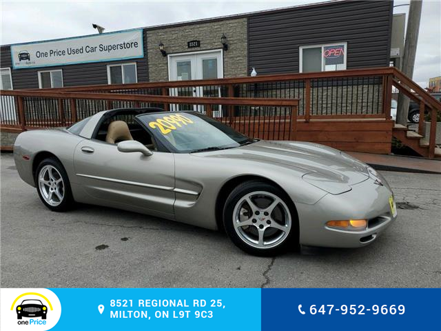 2001 Chevrolet Corvette Base (Stk: 10831) in Milton - Image 1 of 24