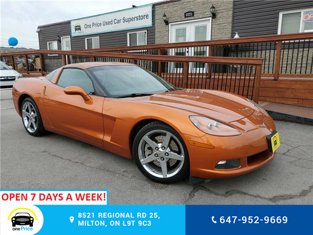 2007 Chevrolet Corvette Base (Stk: 10836) in Milton - Image 1 of 24