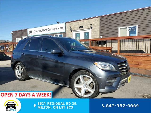 2014 Mercedes-Benz M-Class Base (Stk: 10851) in Milton - Image 1 of 27
