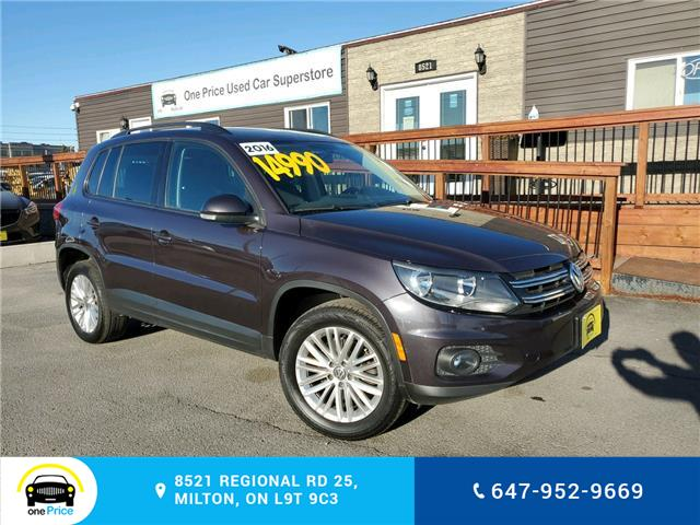 2016 Volkswagen Tiguan Special Edition (Stk: 10839) in Milton - Image 1 of 26