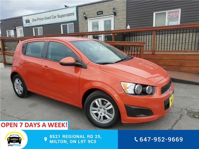2012 Chevrolet Sonic LS (Stk: 10858) in Milton - Image 1 of 25