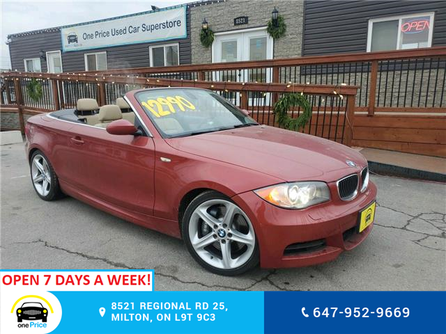 2009 BMW 135i  (Stk: 10878) in Milton - Image 1 of 24