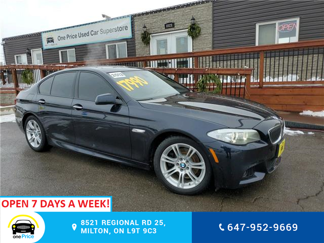 2013 BMW 528i xDrive (Stk: 10882) in Milton - Image 1 of 30