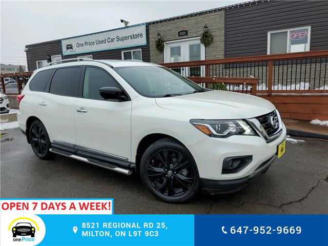 2017 Nissan Pathfinder Platinum (Stk: 10893) in Milton - Image 1 of 31