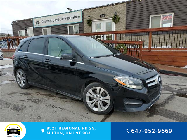2017 Mercedes-Benz B-Class Sports Tourer (Stk: 10897) in Milton - Image 1 of 29