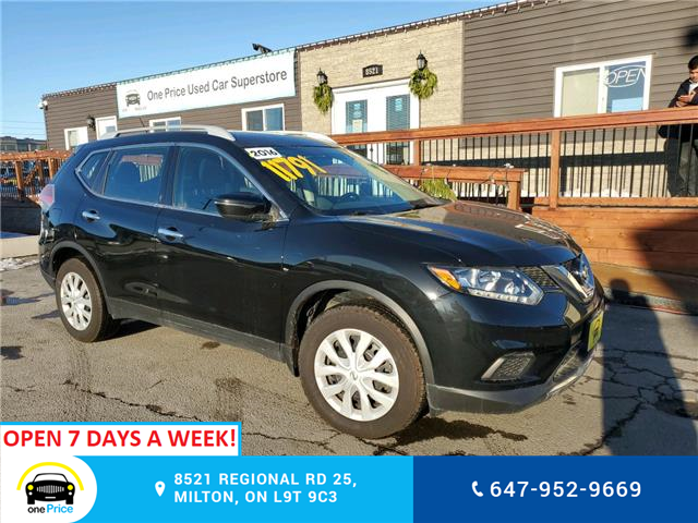 2016 Nissan Rogue S (Stk: 10759) in Milton - Image 1 of 25