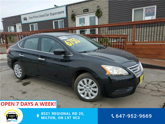 2015 Nissan Sentra 1.8 S (Stk: 10811) in Milton - Image 1 of 20