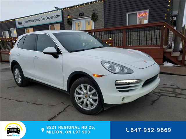 2014 Porsche Cayenne Platinum Edition (Stk: 10901) in Milton - Image 1 of 10