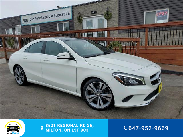 2018 Mercedes-Benz CLA 250 Base (Stk: 10894) in Milton - Image 1 of 25