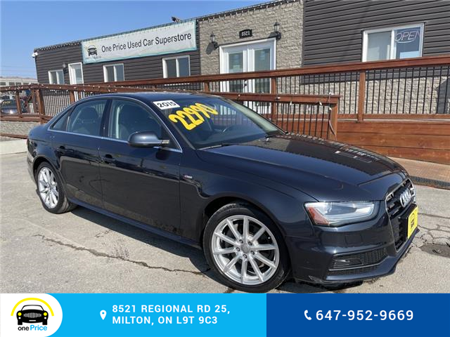 2015 Audi A4 2.0T Progressiv (Stk: 10910A) in Milton - Image 1 of 30