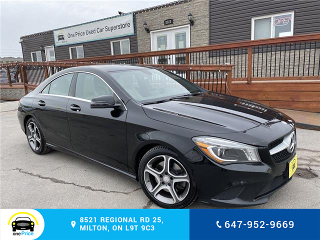 2014 Mercedes-Benz CLA-Class Base (Stk: 10954) in Milton - Image 1 of 25